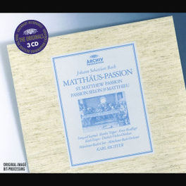MATTHAUS PASSION W/SEEFRIED, TOPPER, FI-DIESKAU, KARL RICHTER, MUNCHENER Audio CD, J.S. BACH, CD