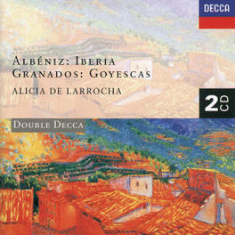 IBERIA &.. ALICIA DE LARROCHA Audio CD, ALBENIZ/GRANADOS, CD