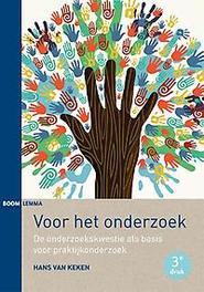 Voor het onderzoek de onderzoekskwestie als basis voor praktijkonderzoek, Van Keken, Hans, Paperback