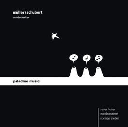 DIE WINTERREISE (VERSION HUTTER/RUMMEL/SHETLER SCHUBERT/MULLER, CD