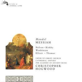 MESSIAH -COMPLETE- -HOGWOOD Audio CD, G.F. HANDEL, CD