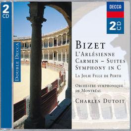 L'ARLESIENNE/CARMEN SUITE O.S.M./CHARLES DUTOIT Audio CD, G. BIZET, CD