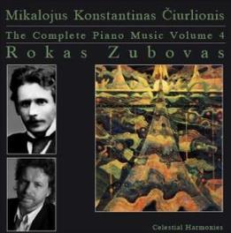 COMPLETE PIANO MUSIC Audio CD, ROKAS ZUBOVAS, CD