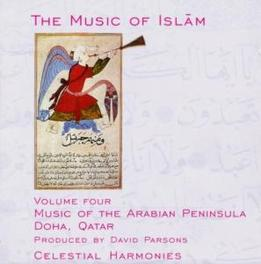 MUSIC OF ARABIAN PENINSUL Audio CD, MUSIC OF ISLAM, CD