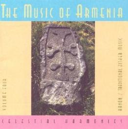 MUSIC OF ARMENIA 4 Audio CD, KARINEH HOVHANNESSIAN, CD