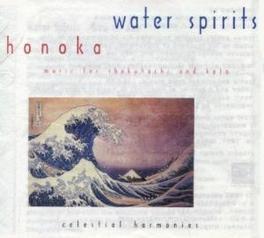 WATER SPIRITS-MUSIC FOR S AUSTRALIAN+JAPANESE WORLD MUSIC Audio CD, HONOKA, CD