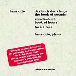 BOOK OF SOUNDS/BOOK OF HO ..HOURS Audio CD, HANS OTTE, CD