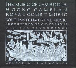 MUSIC OF CAMBODIA Audio CD, V/A, CD