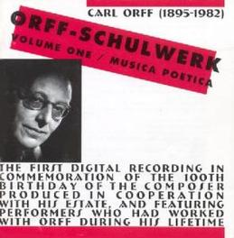 SCHULWERK 1 Audio CD, C. ORFF, CD