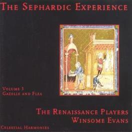 SEPHARDIC EXPERIENCE V.3 Audio CD, RENAISSANCE PLAYERS, CD