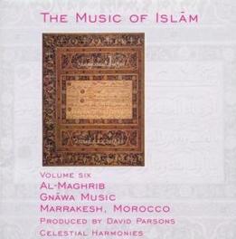 AL-MAGHRIB GNAWA MUSIC Audio CD, MUSIC OF ISLAM, CD