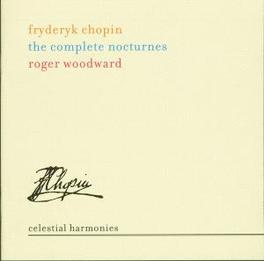 COMPLETE NOCTURNES W/ROGER WOODWARD Audio CD, F. CHOPIN, CD