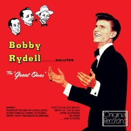 SALUTE THE GREAT ONES BOBBY RYDELL, CD