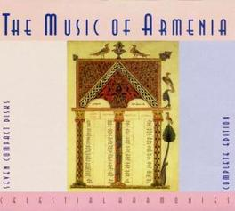 MUSIC OF ARMENIA *BOX* PRODUCED BY DAVID PARSON Audio CD, V/A, CD