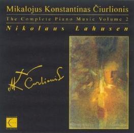 MIKALOJUS KONSTANTINAS Audio CD, NIKOLAUS LAHUSEN, CD