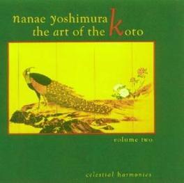 ART OF THE KOTO 2 Audio CD, NANAE YOSHIMURA, CD