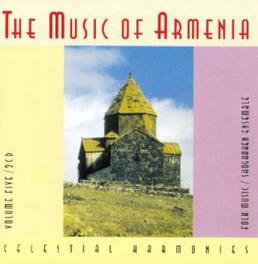 MUSIC OF ARMENIA 5 Audio CD, V/A, CD