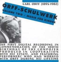 SCHULWERK 2 Audio CD, C. ORFF, CD