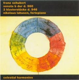 SCHUBERT SONATA D 960 Audio CD, NIKOLAUS LAHUSEN, CD