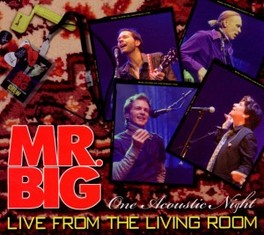 LIVE FROM THE LIVING ROOM MR. BIG, CD