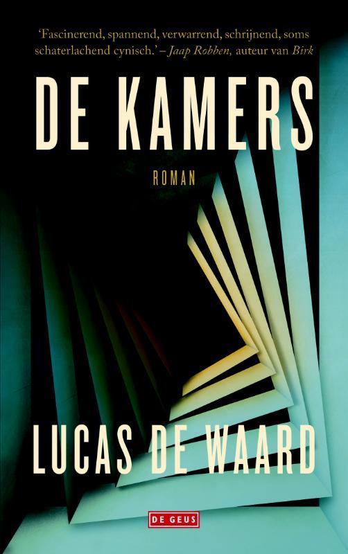 De kamers roman, Lucas de Waard, Paperback