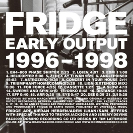EARLY WORKS * ADEM + PRODUCER FOUR TET Audio CD, FRIDGE, CD