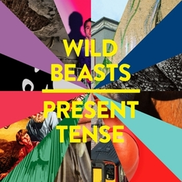 PRESENT TENSE REMIXES LIMITED EDITION WHITE LABEL 12' VINYL WILD BEASTS, MSINGLE