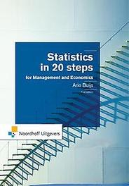 Statistics in 20 steps Arie Buijs, Paperback