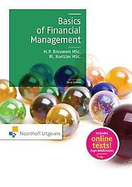Basics of financial management Brouwers, Rien, Paperback