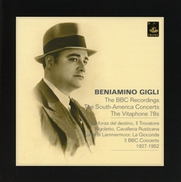 BBC RECORDINGS, SOUTH-AME Audio CD, BENIAMINO GIGLI, CD