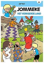 JOMMEKE 021. HET VERKEERDE LAND JOMMEKE, Nys, Jef, Paperback