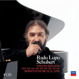RADU LUPU PLAYS SCHUBERT LUPU Audio CD, F. SCHUBERT, CD