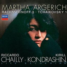 PIANO CONC.NO.3/P.C.NO.1 MARTHA ARGERICH, PIANO Audio CD, RACHMANINOV/TCHAIKOVSKY, CD
