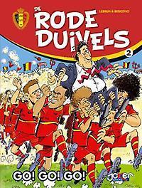De Rode Duivels 2 Go! Go! Go! (%) De Rode Duivels, Lebrun, Hardcover