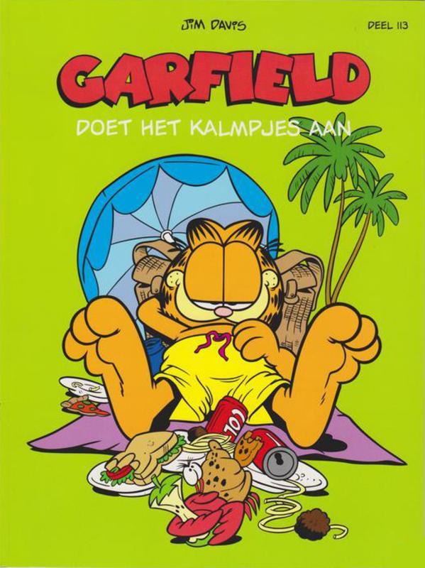 Garfield Strip 113 Doet het kalmpjes aan Garfield, Davis, Jim, Paperback