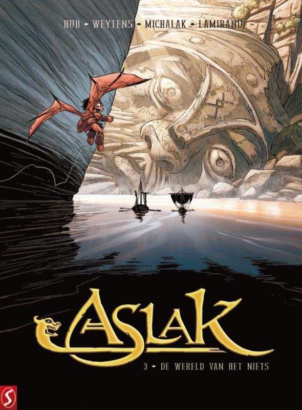 Aslak 3 Het midden van de mast Aslak, Hub, Hardcover