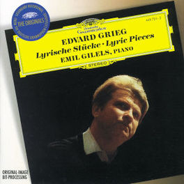 LYRIC PIECES -EMIL GILELS Audio CD, E. GRIEG, CD