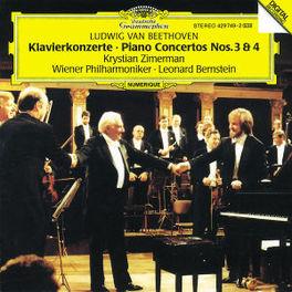 KLAVIERKONZERTE 3 & 4 ZIMERMAN WP BERNSTEIN Audio CD, L. VAN BEETHOVEN, CD