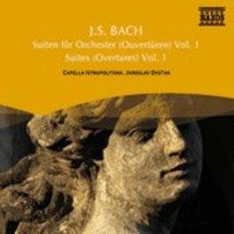 ORCHESTERSUITEN 1,2 & 5 CAPELLA ISTROPOLITANA J.S. BACH, CD
