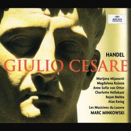 GIULIO CESARE LES MUSICIENS DU LOUVRE/MARC MINKOWSKI Audio CD, G.F. HANDEL, CD