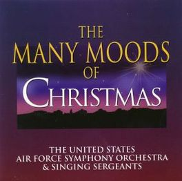 MANY MOODS OF CHRISTMAS U.S. AIR FORCE S.O., CD