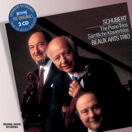 PIANO TRIOS BEAUX ARTS TRIO Audio CD, F. SCHUBERT, CD
