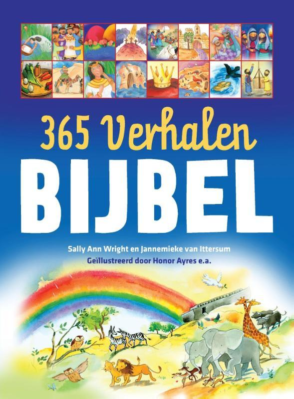 365 verhalen Bijbel. Wright, Sally Ann, Hardcover  <span class=