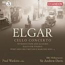 CELLO CONCERTO WATKINS/BBC P.O.