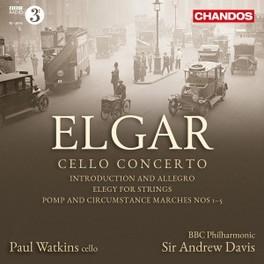 CELLO CONCERTO WATKINS/BBC P.O. E. ELGAR, CD