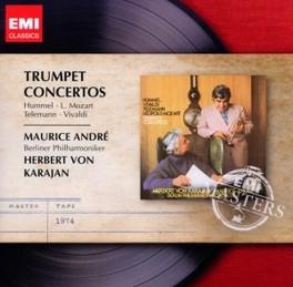 TRUMPET CONCERTOS BERLINER PHILHARMONIKER // HERBERT VON KARAJAN MAURICE ANDRE, CD