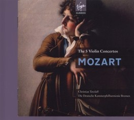 5 VIOLIN CONCERTOS CHRISTIAN TETZLAFF/DEUTSCHE KAMMERPHILHARMONIE W.A. MOZART, CD
