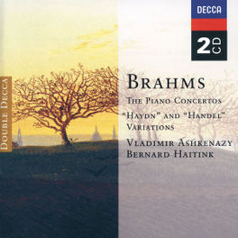 PIANO CONCERTOS ROYAL CONCERTGEBOUW ORCH/WIENER PHIL./HAITINK/ASHKENAZY Audio CD, J. BRAHMS, CD