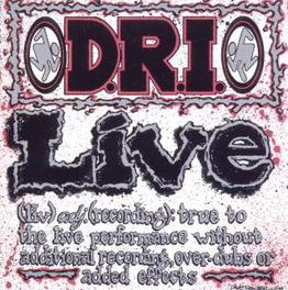 LIVE Audio CD, D.R.I., CD