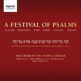 A FESTIVAL OF PSALMS J.VIVIAN CHOIR OF THE TEMPLE CHURC, CD